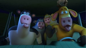 From the movie Barnyard